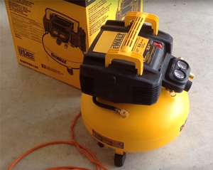 DEWALT DWFP55126 6-Gallon 165 PSI Pancake Compressor Review 2019