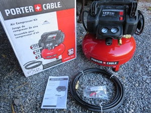 PORTER-CABLE C2002-WK Pancake Compressor 13-Pc Kit Review 2018
